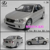 Soft world LEXUS lexus is 300 alloy car model toy car champagne color