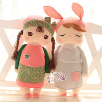 Free Shipping Hot Sell 5 Styles New Arrival Metoo Angela Rabbit Girl Plush Toy Small Doll Child Gift Stuffed Plush Toys  FC12061