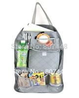 Vehicle Backseat Organizer Bamboo Charcoal Storage Bag, 5pcs/lot Free Shipping