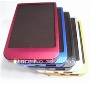 Free shipping new USB Solar Battery Panel Charger for Phone&MP3&MP4&IPAQ&Digital camera,Five colors optional