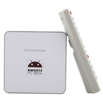 Android 4.0 Internet TCC8920 1GHz Full HD 1080P TV Box 1G RAM WIFI Media Player