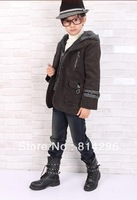 Free   shipping     Children's coat boy's warm coat