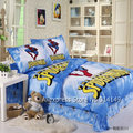 home textile comforter/duvet covers Cotton 3pcs Full/Queen/KingCool Spider Man Cartoon Pattern Blue bedding sets