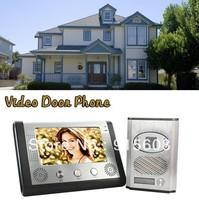 "7"" TFT LCD Video Door Phone & 1/4""  Color CMOS Camera CR454"