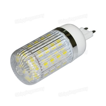 G9 free shipping AC 85V-265V 7watt base 36 5050 smd led corn lamp bulb 7W cool white / warm white outdoor light New with cover