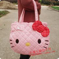 Limited hello kitty cat head Large handbag shoulder bag