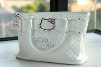 Free shipping Hello kitty hardware shoulder bag handbag casual elegant bags wholesale handbags
