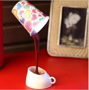 H120 Novelty DIY LED Night Lamp Table Home Decoration Romantic Coffee Usb Or Battery Promotion Gifts Freeshipping Drop Shipping