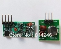 Free shipping , 433M wireless  10pcs transmitter module+10pcs receiver