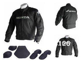 2012 new 1pcs Honda Racing protection Oxford Nylon Jacket.Motocross jacket.racing,motorbike clothing [TEY5]