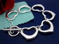 DB118 // new promotion 925 silver plated Bracelet, 925 Silver jewelry, fashion hot sale Bracelets Wholesale Free shipping