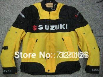 2012 new 1pcs Honda Racing protection Oxford Nylon Jacket.Motocross jacket.racing,motorbike clothing [Yellow]