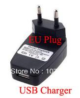 Free shipping /10pcs EU Plug Universal USB Travel Wall AC Charger Adapter MP3 MP4 IPOD