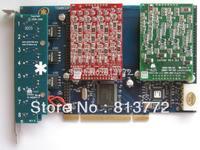 TDM800P 8 Ports 4FXO &4 FXS asterisk card for voip ippbx ip pbx call center trixbox elastix