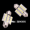 Wholesale 10X 31mm 12 LED SMD Festoon Dome Light lamp Car Bulbs pathway light door led bulb reading White blue free shipping