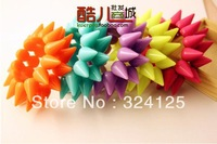 Free shipping 5pcs fashion punk multicolor Women's Casual double fluorescence colour charm rivet bracelet