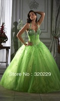 Holiday Sale!! 2014 Stock the picture color Wedding Brides Dress size 4 6 8 10 12 14 16 18 20 22 LJ28