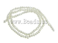 Wholesale 125Pcs/Lot White Natural Potato Cultured Freshwater Pearl Beads,A grade,3mm,Hole:0.5mm Free Shipping Jewelry Findings