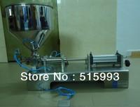 Filling range 5ML-100ML for small bottle, food packaging, liquid paste filling machine