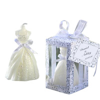 Fashion wedding candle wedding gift the bride wedding dress candle personalized gift