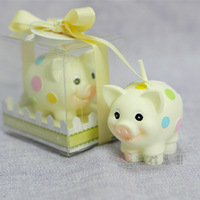 Child birthday party supplies birthday candle smokeless candle zodiac pig
