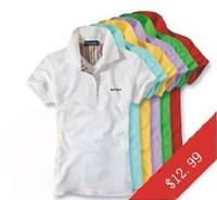 women short sleeve polo shirts M L XL XXL sizes brand T-shirts free shipping polos