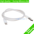 High Quality USB 2.0 8 pin to 30 pin Adapter Cable  for iphone 5 Touch 5th Nano 7th Free Shipping UPS DHL EMS HKPAM CPAM