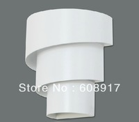 2012 Hot Selling 1 Light Modern Fashion European style wall lamp .Fixture White