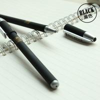 M&G school office&school supplies  Plastic black Gel pens BLACKCrystal0.5MM office ORDER MORE THAN 50 pieces FREE SHIPPING pen