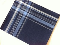 100% cotton dark color male handkerchief