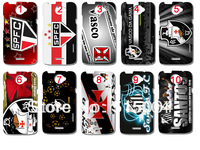 NEW football club  Sao Paulo Santos Vasco da gama case hard back cover for HTC ONE X high quality 10pcs/lot+ free shipping