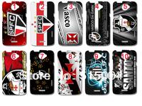 NEW football club  Sao Paulo Santos Vasco da gama case hard back cover for HTC ONE X high quality 10pcs/lot+ free shipping