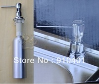 New Aluminum Construction Chrome Finish Kitchen Sink Soap Dispenser
