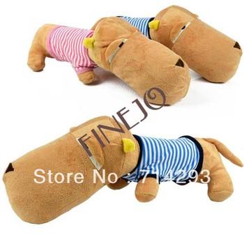 Cute Plush Big head dog Pillow Cushion Soft Throw Pillow Kid Animal Toys Free shipping 6940