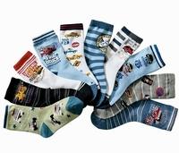 unisex boys girls kids16-19cm cartoon cotton socks, cheap children ankle socks