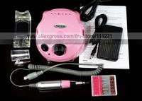 1 set - Electric Nail Drill Polisher (US202) - for Nail Manicure/Pedicure Polishing / Filing - Nail Art Machine - Free Shipping