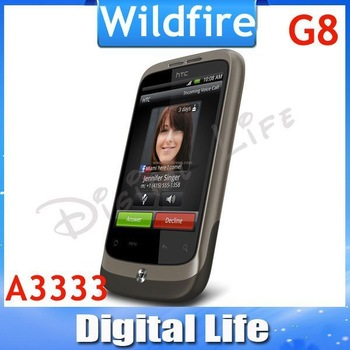 Hot Sale G8 Original HTC Wildfire Google G8 A3333 Android GPS Smrtphone Unlocked Cell Phone