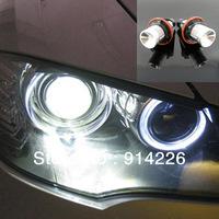 Car Auto parts 2PCS LED Angel Eyes Light 1\3\5\6\7\X Series E39 E60 E61 E63 E64 E65 E66 E87 E53 White