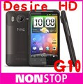 "G10 Desire HD Original HTC Desire HD A9191 4.3""TouchScreen 8MP WIFI GPS Android Mobile Phone"