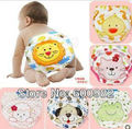 Free Shipping Wholesale Baby Training Pants Infant Kid Girls Animal Waterproof Pants 12Pcs Lovely Shorts 3 Layers Fully Protet