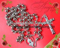 6mm blingbling iron bead rosary
