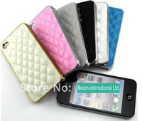 For iphone 4 case Fashion Luxury Design Back Case Cover for iphone4 ,Cell phone accessory for Apple Freeshipping by DHL