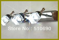 HI-QUALTIY 110-240V WITH LED 460*125*1600MM  3 HEADS DIAMOND DESIGN K9 CRYSTAL MIRROR FRONT LIGHT/WALL LIGHT  X'TMAS GIFT