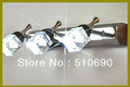 HI-QUALTIY 110-240V WITH LED 460*125*1600MM  3 HEADS DIAMOND DESIGN K9 CRYSTAL MIRROR FRONT LIGHT/WALL LIGHT  X'TMAS GIFT