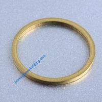 2000 PCS Raw Brass 19*1.2*1.2mm copper Rings fashion jewelry findings jewellry Conntctors Quoit