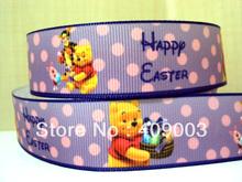 popular happy easter ribbon
