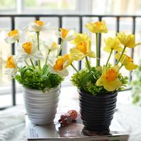 The decorative supplies Simulation daffodils