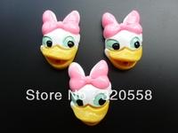 "Wholesale lovely Cartoon animals  FlatBack Resins Scrapbooking Embellishment 50pcs #DS Free Shipping 1.2"""