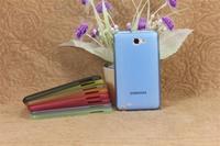 wholesale  Ultrathin transparent frosted  case for samsung i9220  N700  i9228 100pcs/lot