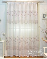 Window screeningfor living room  270cm x 200cm/pcs  2012 style Floret 2pcs
